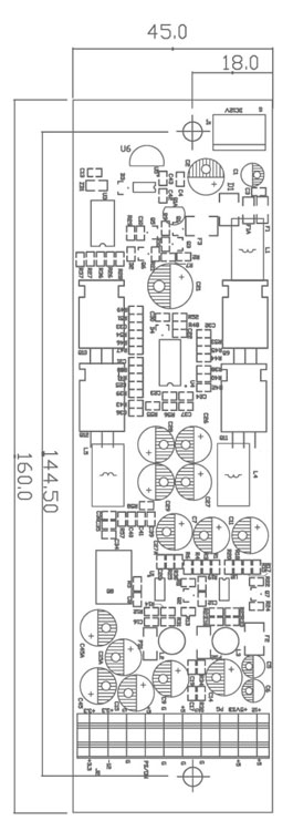 Commell DC-DC3 90 Watt DC to DC Power Converter -18691