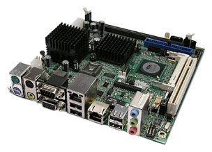 2800770 - Mini-ITX Motherboard with VIA Eden-V4 (400 MHz or 1.0 GHz)/Eden C7 1.5 GHz Processor
