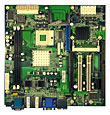 2801590 - Industrial Motherboard with Socket M for Intel Core 2 Duo / Core Duo / Core Solo series processors