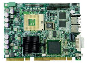 3307640 - Half-Size PICMG 1.3 SBC with Socket M for Intel Core 2 Duo/Core Duo/Core Solo processor