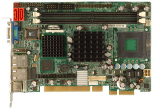 3307810 - Half-Size PCIe (PICOe) SBC with Socket M for Intel Core 2 Duo Processor