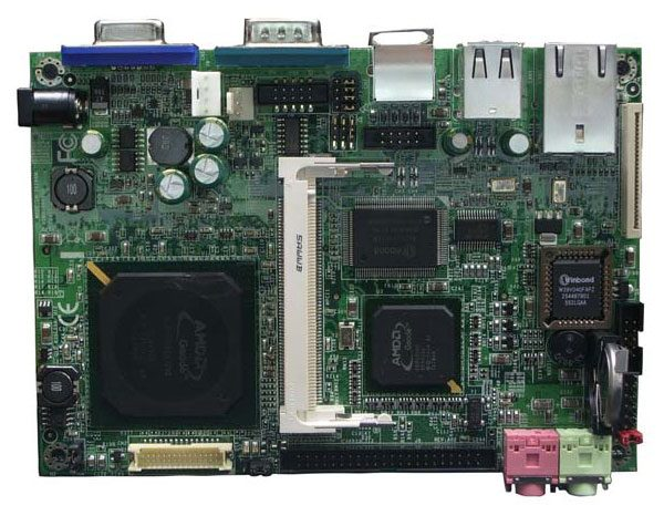3308190 - 3.5 inch Embedded Controller with embedded AMD Geode LX800 Processor