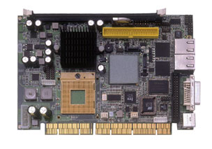 3308350 - Half-size PISA SBC with Socket M for Core 2 Duo / Core Duo / Core Solo