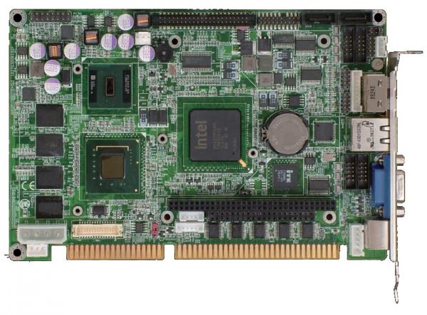 3308560 - Wide Range Operating Temperature Fanless Intel Atom N270 ISA Half-size SBC with 512MB DDR2 SDRAM onboard