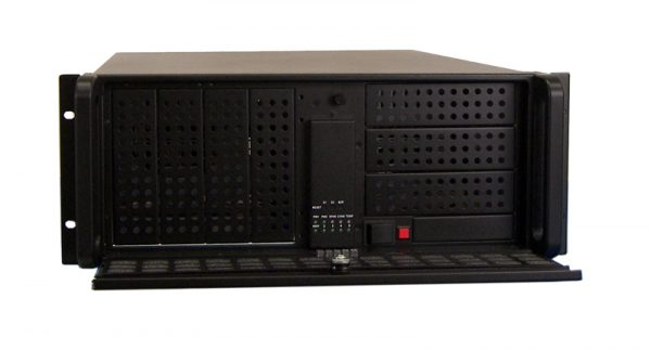 1407610 - 4U 14-SLOT High Availability Industrial Rackmount Chassis for Full-Size SBC or ATX / E-ATX Motherboards