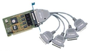 1507599 - Half-size ISA 8 x RS-232 Serial Card