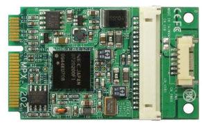 MPX-7202 Mini-PCI Express (mini-PCIe) USB 3.0 Card