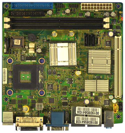 2807631 - Mini-ITX Motherboard with Socket M for Intel Core 2 Duo / Core Solo / Celeron M series processors