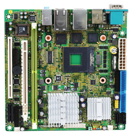 2807633 - Mini-ITX Motherboard with Socket M for Intel Core 2 Duo / Core Solo / Celeron M series processors