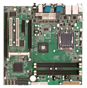 2808200 - Micro ATX Industrial Motherboard with LGA 775 for Intel Core 2 Quad/ Core 2 Duo / Celeron processors
