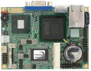 2808240 - PICO-ITX Motherboard with the choice of Embedded Intel Atom Dual Core D510, Single Core D410 or Single Core N450 Processor