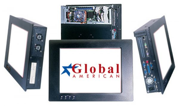 2901150 - 15 inch Industrial Panel PC with a Full-size or Half-size SBC