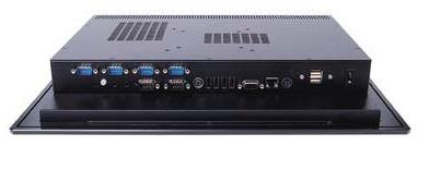 2907815 - 15 inch Fanless Industrial Panel PC with Resistive Touchscreen and Intel Atom N270 Processor