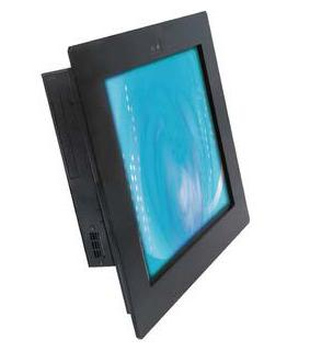2907817 - 17 inch Fanless Industrial Panel PC with Resistive Touchscreen, CCD Camera and Intel Atom N270 Processor