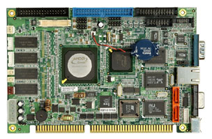 3301660 - Half-Size ISA SBC with an Embedded FANLESS AMD Geode GX-466 333 MHz Processor
