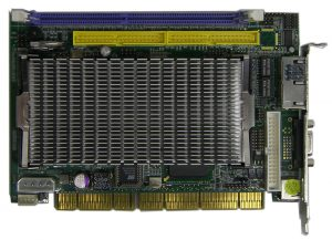 3307610 - Half-Size PISA SBC with Embedded FANLESS ULV Intel Celeron M 600 MHz Processor