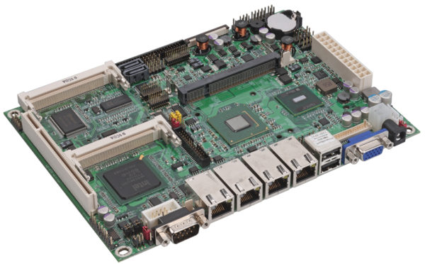 3307678 - 5.25 inch Fanless Embedded Controller with the Intel Atom N270 processor and 4 x Intel Gigabit LAN