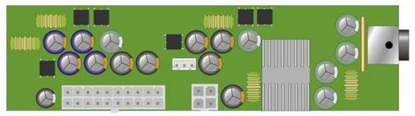 Commell DC-DC1N DC to ATX Converter -0