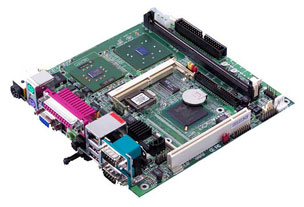 Commell LV-671ZMA Mini-ITX Motherboard with Onboard Intel Celeron-M Processor 600 MHz-19181