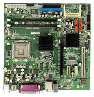 IMB-9154-R10 Industrial Micro ATX Motherboard with LGA 775 for Intel Pentium 4 / Celeron D series processors-19239