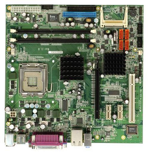 IMB-9154-R10 Industrial Micro ATX Motherboard with LGA 775 for Intel Pentium 4 / Celeron D series processors-0