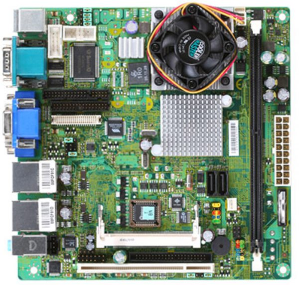 ms-9802 Mini-ITX Motherboard with Embedded C7 Eden series processor-0