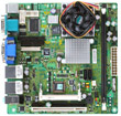 KINO-LX-800-R10 Mini-ITX Motherboard with Embedded AMD Geode LX800 500 MHz Processor-19243