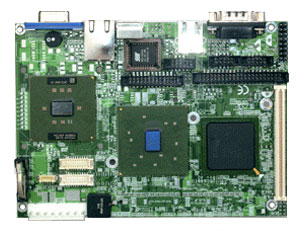 """SBC84810 3.5"""" Form Factor SBC with Embedded FANLESS Intel Celeron-M 1.0 GHz Processor-0"""