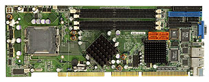 WSB-9154-R10 Full-Size PICMG 1.0 SBC with LGA 775 (Socket T) for Intel Pentium-4 Prescott / Celeron-D P-18840