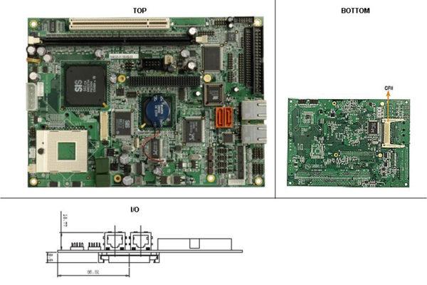 "NOVA-6612G2 5.25"" Embedded Controller with Socket 479 for Intel Pentium M / Celeron M Processor-0"