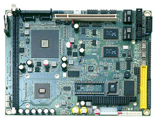 """HS-4610 5.25"""" Embedded Controller with Embedded C7 1 GHz Processor -0"""