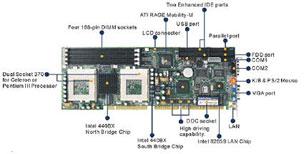 NASA-6903 Full Size PICMG 1.0 SBC with Dual Socket 370 for Two Intel Pentium III / Celeron-18945