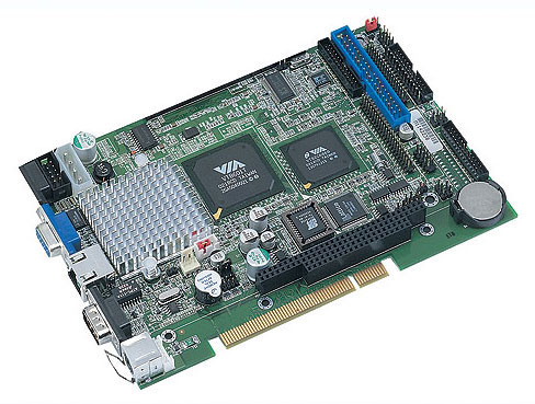 AR-B1640 PCI Bus SBC with Embedded FANLESS EDEN 600 MHz CPU-0