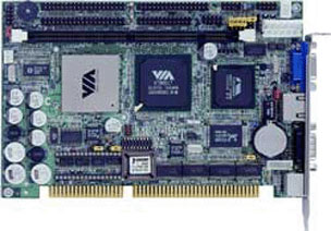Commell HE-860 Half-Size ISA SBC with FANLESS Embedded Eden 533 MHz Processor-0