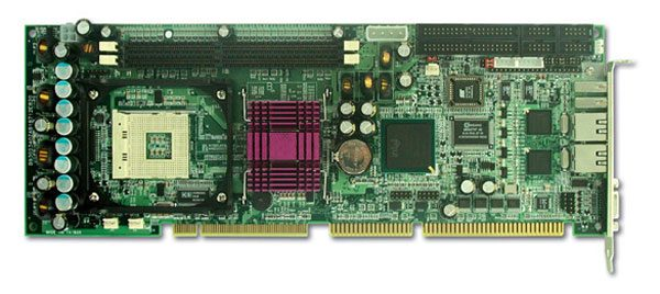 ROBO-8712EVG2A Full-size PICMG SBC with Socket 478 for Intel Pentium-4 / Celeron-D / Pentium-4-M Process -0