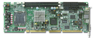 ROBO-8773VG Full-Size PICMG 1 SBC with Socket LGA775 (Socket T) for Intel Core 2 Duo / Pentium D / C -19082