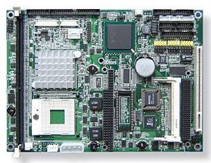 "EmCORE-i8520 5.25"" Embedded Controller with Socket 478 for Intel Pentium M / Celeron M or Embedded FANLESS ULV Intel Celeron M 600 -19109"