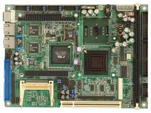 "NOVA-C400N-RS 5.25"" Embedded Controller with integrated Celeron ULV 400 MHz Processor-19112"
