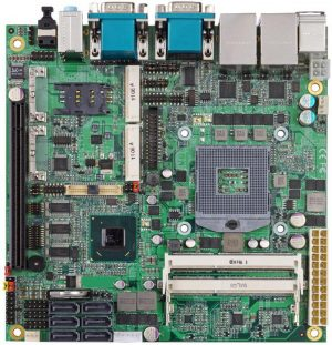 Mini-ITX Motherboard with Mobile Intel QM67 Express Chipset for 2nd Generation Intel Core i3 / i5 / i/7 Mobile Processors