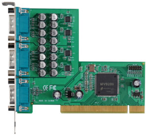 Commell SP-501H PCI 16-Channel MPEG4 Sofware Compression Capture Card-0