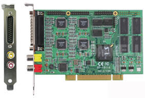 SP-601H PCI 16-Channel MPEG4 Hardware Compression Capture Card