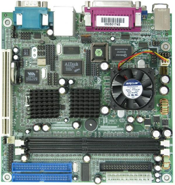 Commell LV-666 Mini-ITX Embedded Eden Motherboard-0