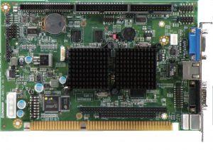 3308920 - Fanless Half-Size ISA Bus SBC with DM&P Voretex86DX 800MHz Processor