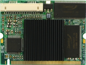 3907880 - Mini-PCI 4-Channel H.264 and MJPEG Hardware Compression Capture Card