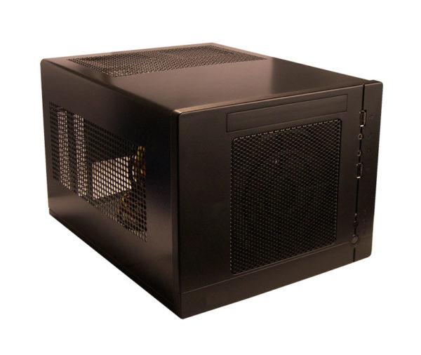 Mini-ITX / Mini-DTX SECC Desktop Chassis with choice of 300 Watt 80 Plus or 450 Watt 80 Plus SFX Power Supply