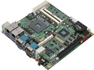 Mini-ITX Industrial Motherboard with Intel QM77 Express Chipset for 3rd Generation Intel Core i3/i5/i7 Mobile Processors