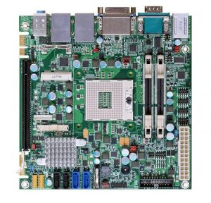 CR100-CRM - Mini-ITX Motherboard with Intel QM77 Express Chipset for 3rd Generation Intel Core i3/i5/i7 Mobile Processors