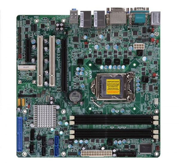 MB330-CRM - Micro-ATX Motherboard with Intel Q77 Express Chipset for 3rd Generation Intel Core i3/i5/i7 Desktop Processors