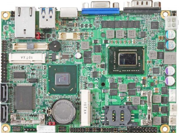 "3.5"" Embedded Mini Board with Intel HM65 Express Chipset with choice of Intel Celeron 807UE, 827E or 847E processor"