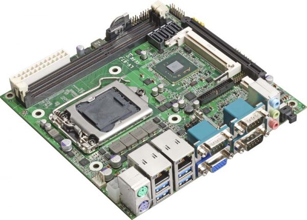 Mini-ITX Industrial Motherboard with Intel Q77 Express Chipset for 2nd and 3rd Generation Intel Core i3/i5/i7 Desktop Processors